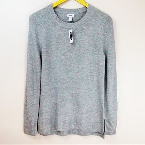 Old Navy NWT Shimmer Basic Crew Neck Sweater